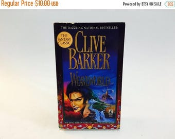 SUMMER BLOWOUT Vintage Fantasy Book Weaveworld by Clive Barker 1988 Early Edition Paperback
