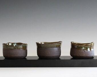 Ceramic candle holder, handmade ceramic candle holder set, ceramics and pottery