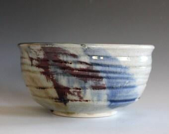 Ceramic Bowl, Pottery Bowl, Pottery Serving Bowl, Pottery, Wheel Thrown Bowl, Handmade Ceramic Bowl, ceramic pottery bowl, stoneware bowl