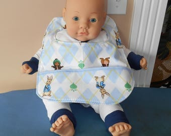 Peter Rabbit Baby Bib