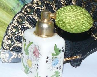 Hand Painted Vintage Perfume Bottle