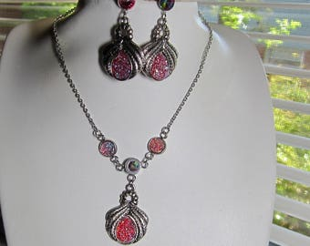 Hypoallergenic Earrings and/or Matching Necklace