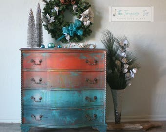Mini Dresser in a Gorgeous One Of A Kind Finish