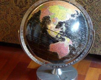 Vintage Encyclopedia Britannica Replogle Globe - 1950s Globe - Replogle Globe Vintage Globe