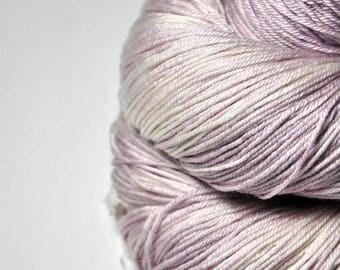 Molten blueberry ice cream - Merino/Silk Fingering Yarn Superwash