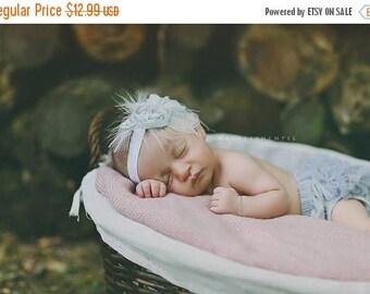 12% off Baby headband, newborn headband, adult headband, child headband and photography prop The triple sprinkled- Chiffon Rosie headband