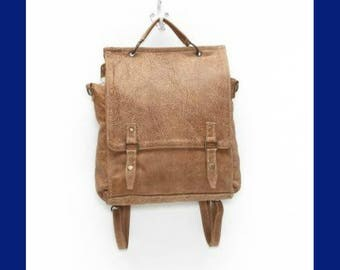 Glorious Leather Convertible Bag