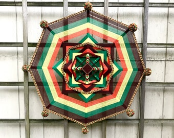 Ojo de Dios God's Eye Wall Hanging
