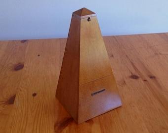 Excellent Vintage Seth Thomas General Time Corp. Wooden Metronome #10 Model E873-007