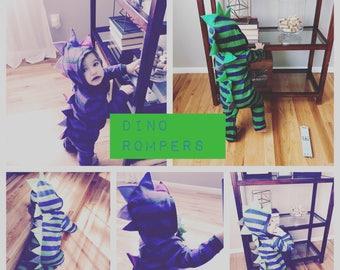 Newborn/infant dino jumpers