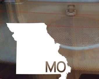 Missouri Car Decal, State Decal, Missouri Decal, Laptop Decal, Laptop Sticker, Car Sticker, Car Decal, Vinyl Decal, MO, Window Sticker