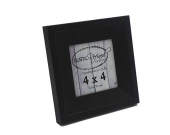 4x4 Haven picture frame - Black