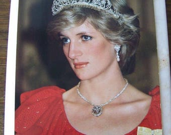 Vintage Postcard Her Royal Highness Princess of Wales England Royalty Britain Princess Diana Unused Postcard 1980s