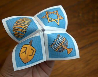 Print Your Own - Hanukkah Cootie Catcher