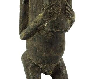Baule Mbra Monkey Miniature Cote d'Ivoire African Art 109551