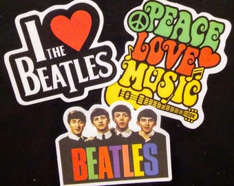 The Beatles Stickers (3)