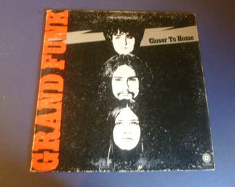 Grand Funk Closer To Home Vinyl Record LP SKAO-471 Capital Records 1970