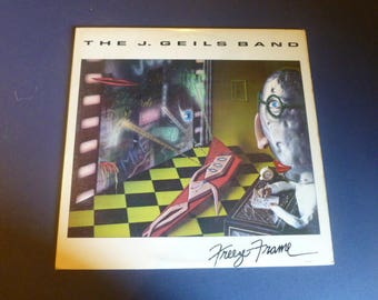 The J. Geils Band Freeze Frame Vinyl Record LP SOO-17062 EMI America Records 1981