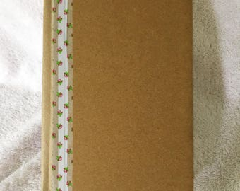 OOAK Handbound Book- Natural