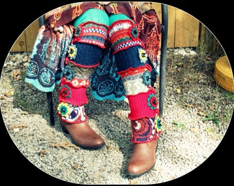 Recycled Leg Warmers
