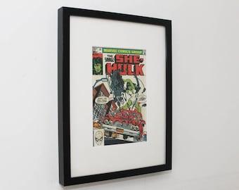 Vintage Comic Cover Framed - She Hulk - 1980's