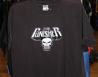 Vintage Marvel Punisher T Shirt
