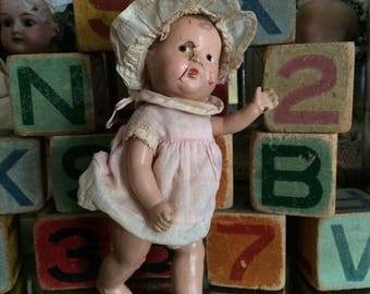 She's A Little Knock Kneed Rag A Muffin But She's Still Adorable Vintage Doll