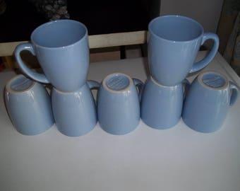 1 Corelle Stoneware  Coffee/Tea Mugs Light Blue 12 oz.