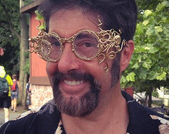 Steampunk Octopus Goggles