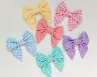 Easter sailor bows