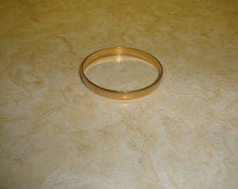 vintage bracelet bangle goldtone monet