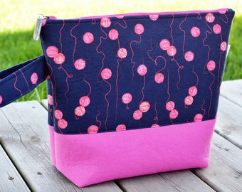 Medium Yarn Balls Project Bag