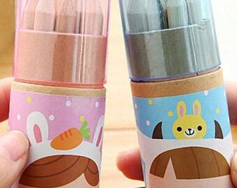 Pencil Set with Sharpener
