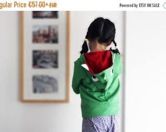Kids hoodie, dinosaur sweatshirt, crocodile sweatshirt, dinosaur sweater, crocodile sweater, halloween costume, unisex kids, kids gift idea