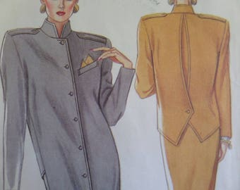 BUTTON SHIRTDRESS Pattern • New Look 6781 • Miss 8-18 • Retro Dress • Power Dress • Sewing Patterns • Vintage Patterns • WhiletheCatNaps