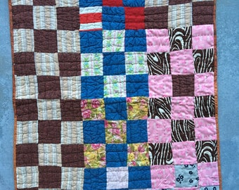Small Quilt, Medium Quilt, Dog Quilt, Cat Quilt Pet Quilt, Quilt