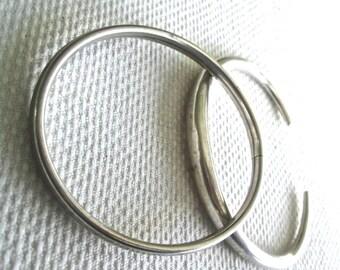 2  Sterling Silver Bracelets 925 Prob USA