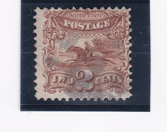 1869 Pony Express Rider US Postage Stamp