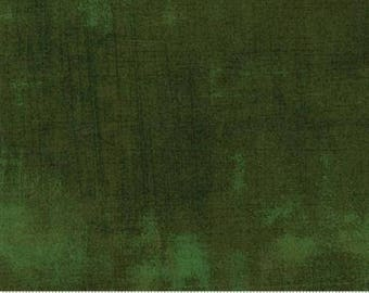 Fabric by the Yard- Grunge Basics-- Forest -- by Basic Grey for Moda