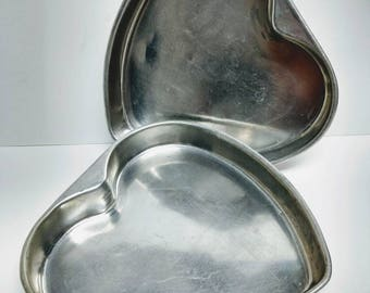 Cake Pans Heart Shaped Baking  Valentine's Molds Free Shipping!