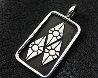 Silver Rarity pendant