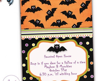 Halloween Birthday Party Invitations, Halloween Costume Party Invites, Halloween Kids Party Invitation, Halloween Invitation Kids, Printable
