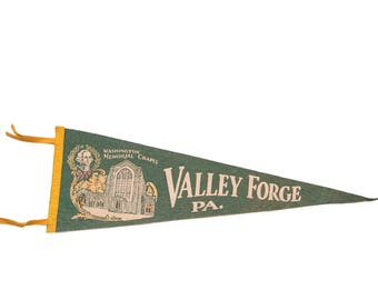 Green Valley Forge PA Felt Flag