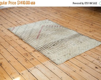 10% OFF RUGS DISCOUNTED 4x6 Distressed Oushak Rug