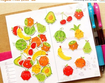 20% OFF Fruit Stickers. Planner Stickers. Food Stickers. Erin Condren Stickers. Shopping Stickers. Scrapbook Decoration. ECLP. Filofax. Cute