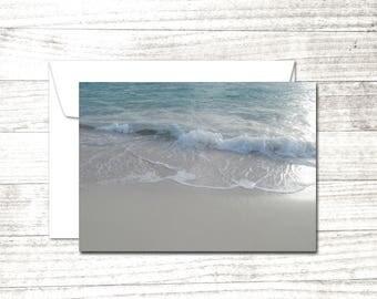 Ocean Surf Set of 10 Note Cards | Fine Art Photography Greeting Cards | Beach theme cards | Greeting Card Set