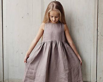 Dress For Girls, Sleeveless Girls Dress, Kids Fashion, Children Clothing, Princess Dress, Birthday Gift, Girls Party Dress, Summer Dress