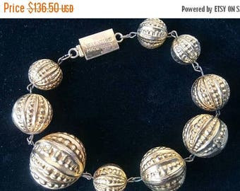 Now On Sale Vintage Valentino Designer Signed Chunky Couture Bracelet