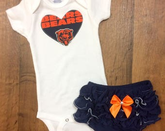 Chicago Bears Girls Outfit