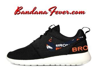 finest selection f904c 2c122 ... Custom Broncos Nike Roshe Run Shoes Black, FREE SHIPPING, broncos,  broncoscountry Custom Denver Broncos Nike Turbo Shox Team Shoes – JNL  Apparel ...